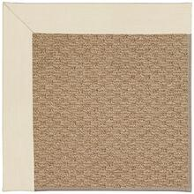 "Creative Concepts-Raffia Canvas Sand - Rectangle - 24"" x 36"""