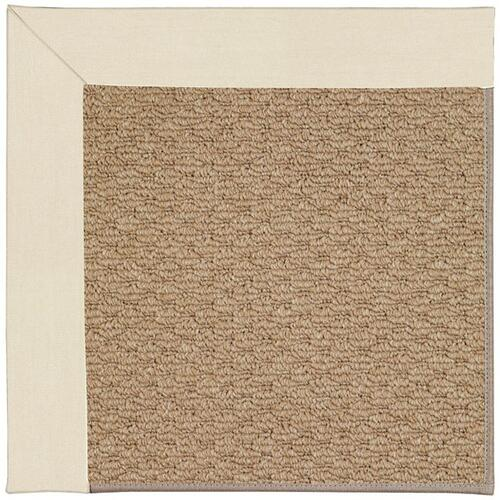 Capel Rugs - Creative Concepts-Raffia Canvas Sand - Rectangle - 7' x 9'