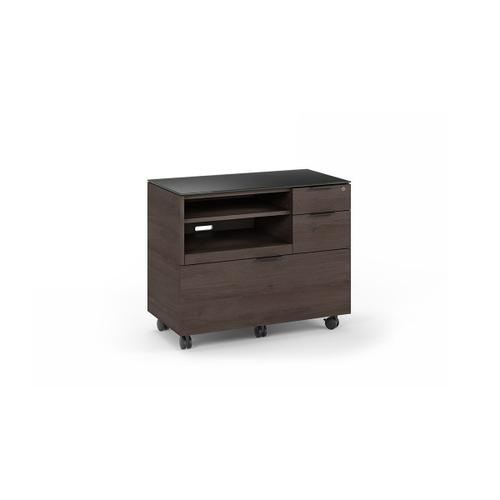 6917 Multifunction Cabinet in Sepia