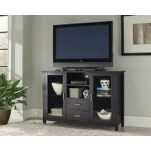 See Details - Trista Transitional Black TV Console