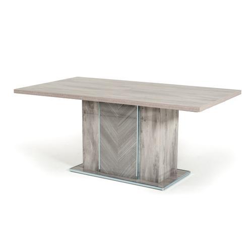Nova Domus Alexa Italian Modern Grey Dining Table Set