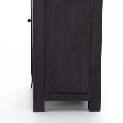 Tilda Cabinet-black Wash Mango