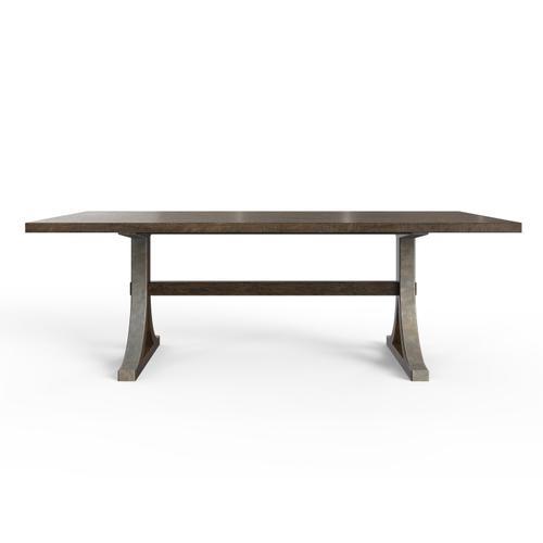 """Hillside 88"""" Rectangular Dining Table - Chestnut"""