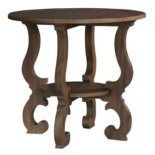 1-6106 Napa Valley Baroque Round Lamp Table