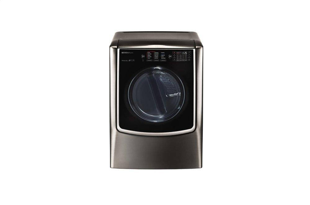 LG Signature9.0 Cu. Ft. Large Smart Wi-Fi Enabled Electric Dryer W/ Turbosteam™