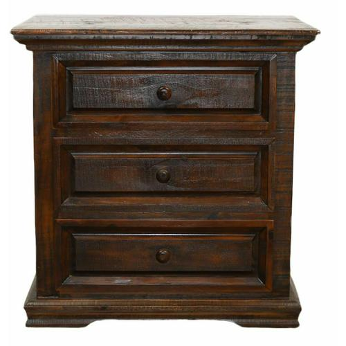 Million Dollar Rustic - Brown Coliseo Night Stand