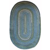Bailey Delphinium Blue Braided Rugs
