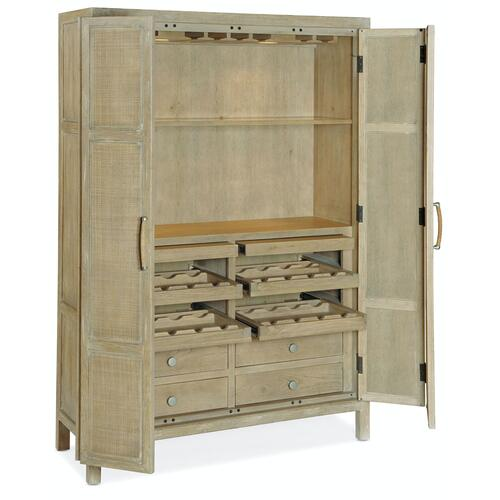 Bar and Game Room Surfrider Bar Cabinet