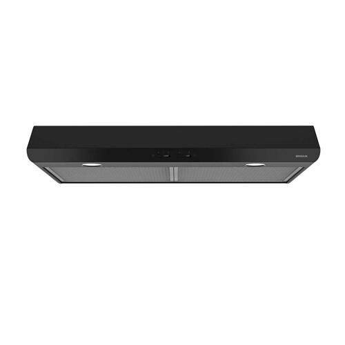 Sahale 30-Inch 250 CFM Black Range Hood with light