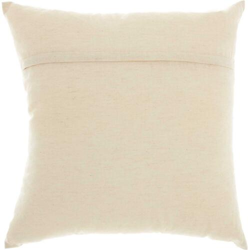 "Trendy, Hip, New-age Rn006 Natural 18"" X 18"" Throw Pillow"