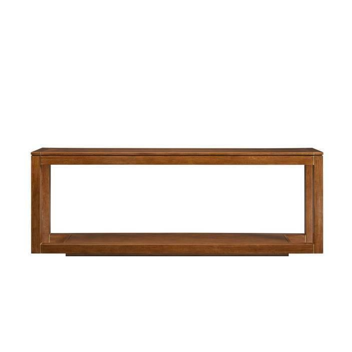 Panavista Floating Parsons Console Table - Goldenrod
