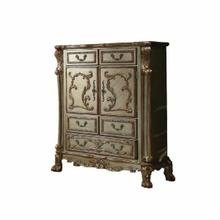 ACME Dresden Chest - 23166 - Gold Patina & Bone
