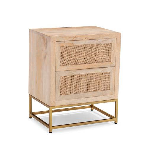 Raphael Rattan Cabinet Two Drawers