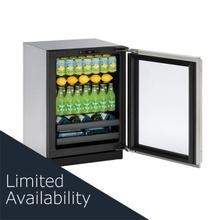 "3024bev 24"" Beverage Center With Stainless Frame Finish and Field Reversible Door Swing (115 V/60 Hz Volts /60 Hz Hz)"