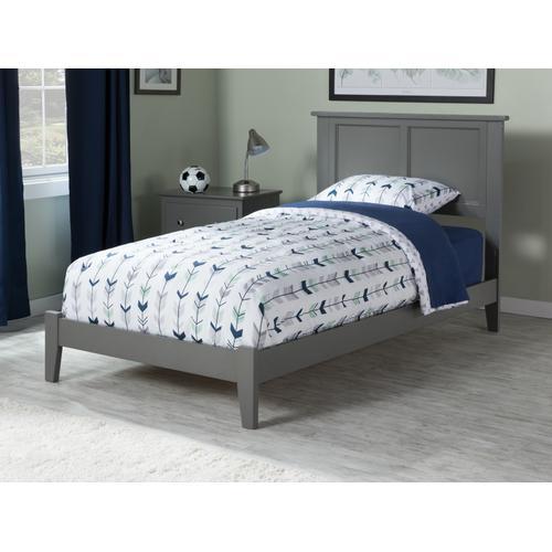 Atlantic Furniture - Madison Twin Bed in Atlantic Grey