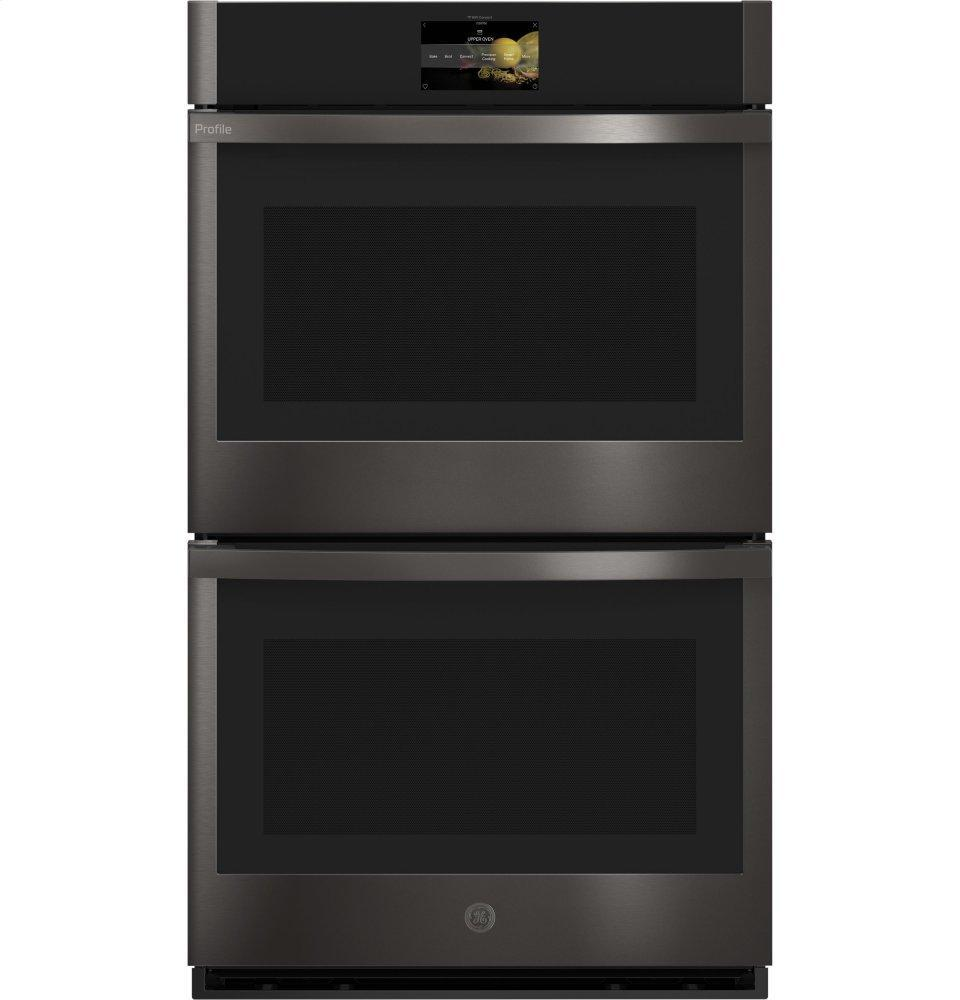 """GE Profile30"""" Smart Built-In Convection Double Wall Oven With No Preheat Air Fry And Precision Cooking"""