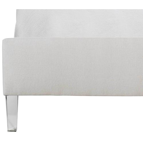King Estella Acrylic Upholstered Bed