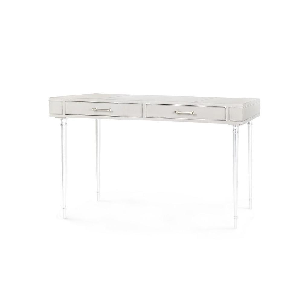 See Details - Jolene Desk, Gray