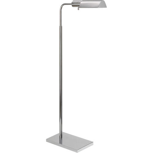 Studio Classic 34 inch 60.00 watt Polished Nickel Task Floor Lamp Portable Light