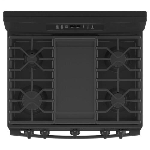 """GE Appliances - GE® 30"""" Free-Standing Gas Convection Range with No Preheat Air Fry"""