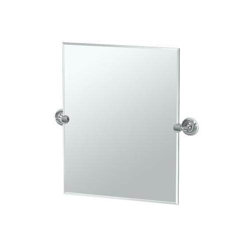 Designer II Rectangle Mirror in Chrome