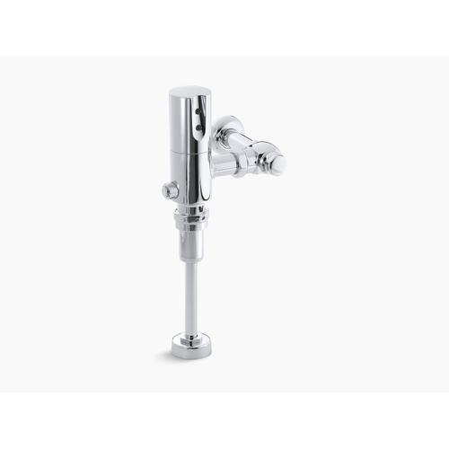 Polished Chrome Exposed Hybrid 1.6 Gpf Flushometer for Toilet Installation