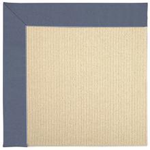 Creative Concepts-Beach Sisal Canvas Sapphire Blue Machine Tufted Rugs