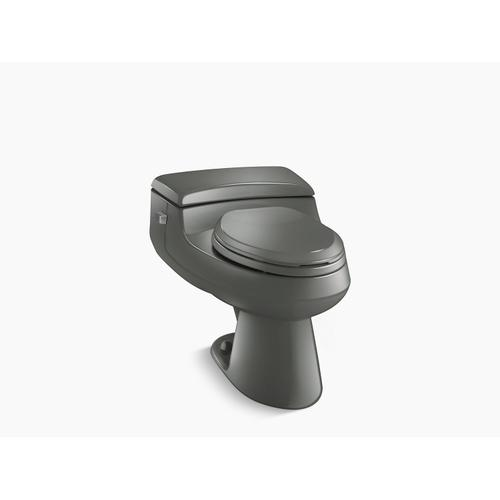 Thunder Grey One-piece Elongated 1.0 Gpf Chair Height Toilet