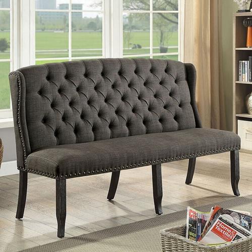 Furniture of America - Sania 3-seater Love Seat Bench
