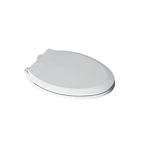 Slow Close Elongated Toilet Seat  American Standard - Linen