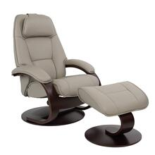 Admiral C Manual Small Recliner With Footstool