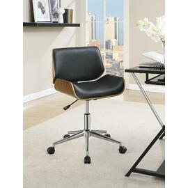 See Details - Modern Black Office Chair