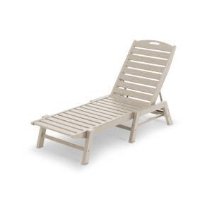 Polywood Furnishings - Nautical Chaise in Sand
