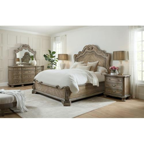 Bedroom Castella California King Panel Bed