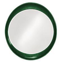 See Details - Ellipse Mirror - Glossy Hunter Green