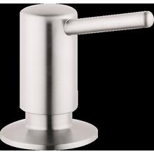 Steel Optic Soap Dispenser, Contemporary