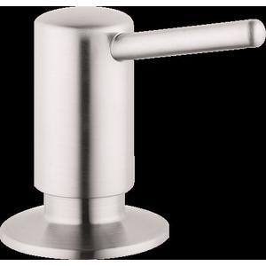 Steel Optic Soap Dispenser, Contemporary