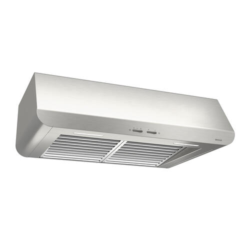 Broan® 42-Inch Convertible Under-Cabinet Range Hood, 400 CFM, Stainless Steel