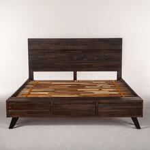 Urban Loft King Bed Dark