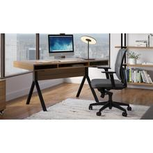 See Details - TC-223 Task Chair 223DHF Task Chair (Fabric) in Grey