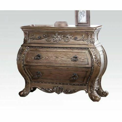 ACME Ragenardus Nightstand - 26313 - Vintage Oak