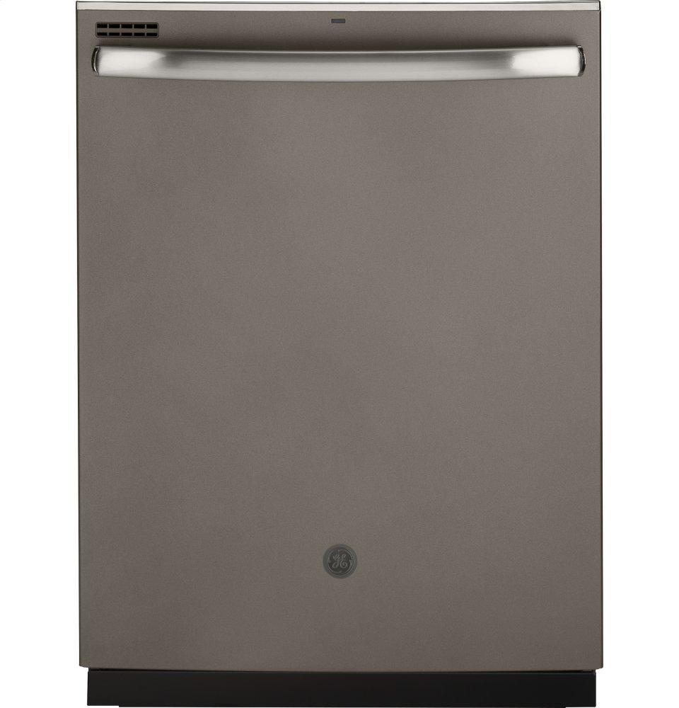 GE®top Control With Stainless Steel Interior Door Dishwasher With Sanitize Cycle & Dry Boost