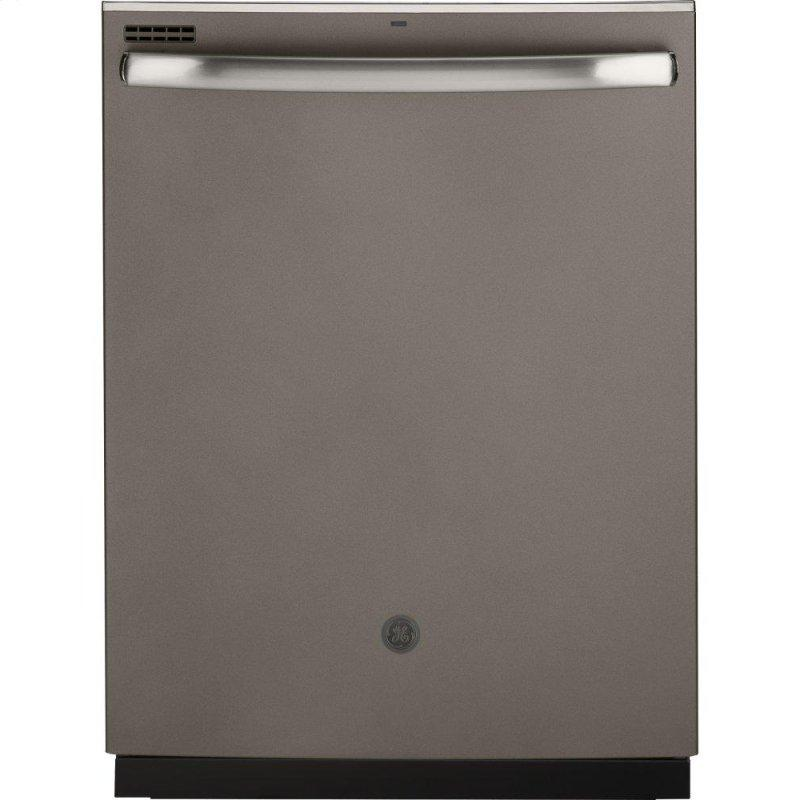 ®Top Control with Stainless Steel Interior Door Dishwasher with Sanitize Cycle & Dry Boost