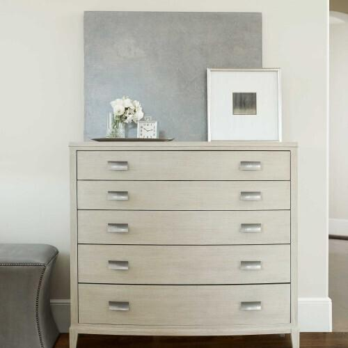 Gallery - East Hampton Tall Chest in Cerused Linen (395)