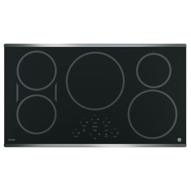 """GE Profile GE Profile™ 36"""" Built-In Touch Control Induction Cooktop"""