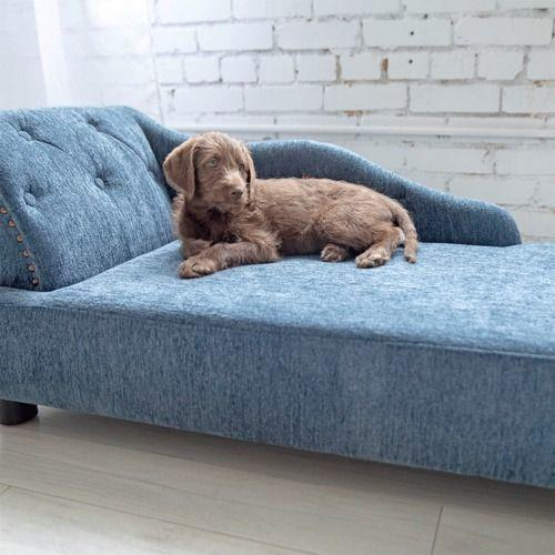 Solana Chaise Lounger, Blue