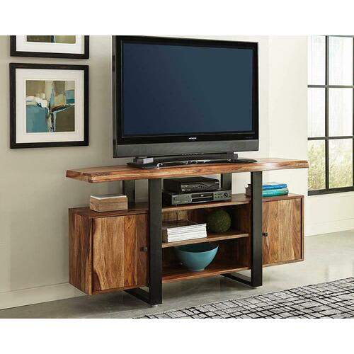 Product Image - Knox Industrial Black TV Console