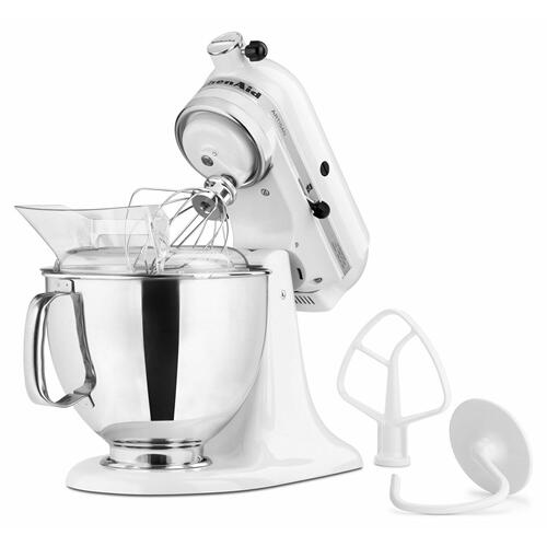 KitchenAid Canada - Artisan® Series 5-Quart Tilt-Head Stand Mixer - White