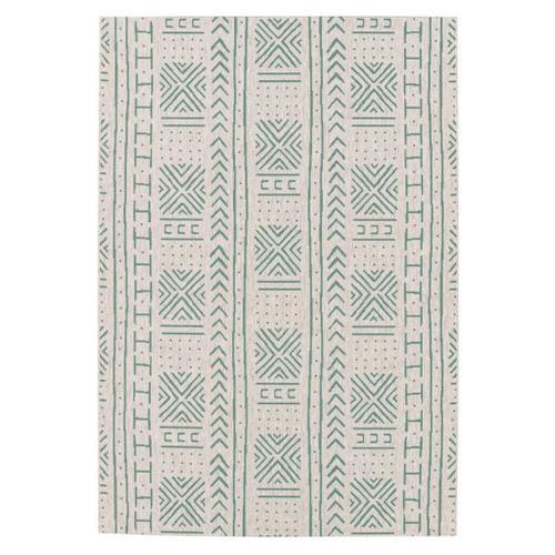 "Finesse-Mali Cloth Spa - Rectangle - 3'11"" x 5'6"""