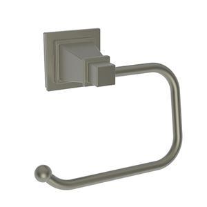 Gun Metal Open Toilet Tissue Holder